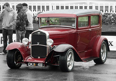 ford model y(0.0), touring car(0.0), luxury vehicle(0.0), automobile(1.0), ford model a(1.0), vehicle(1.0), automotive design(1.0), hot rod(1.0), antique car(1.0), sedan(1.0), ford model b, model 18, & model 40(1.0), vintage car(1.0), land vehicle(1.0), motor vehicle(1.0),