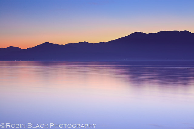 Minimalist Sunset, Salton Sea (CA)