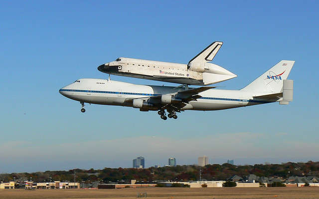 Space Shuttle Piggyback On 747 (page 2) - Pics about space