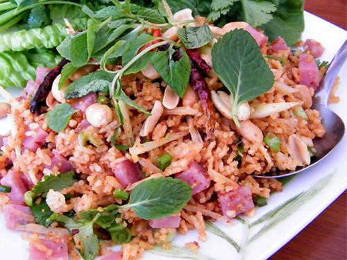 Crispy Rice Salad at Sri Siam, MyLastBite.com