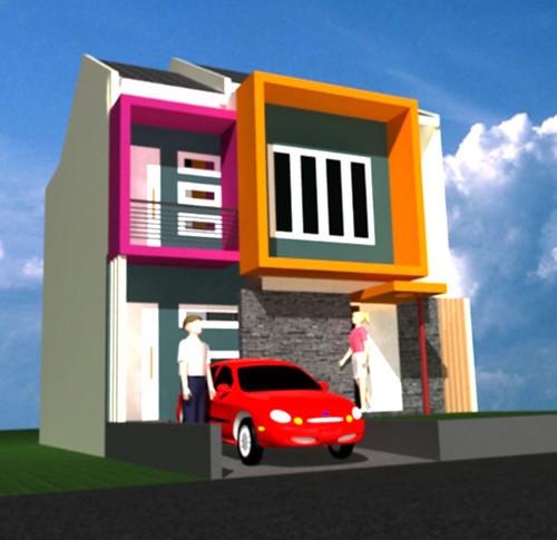 desain rumah model minimalis 2 lantai flickr photo