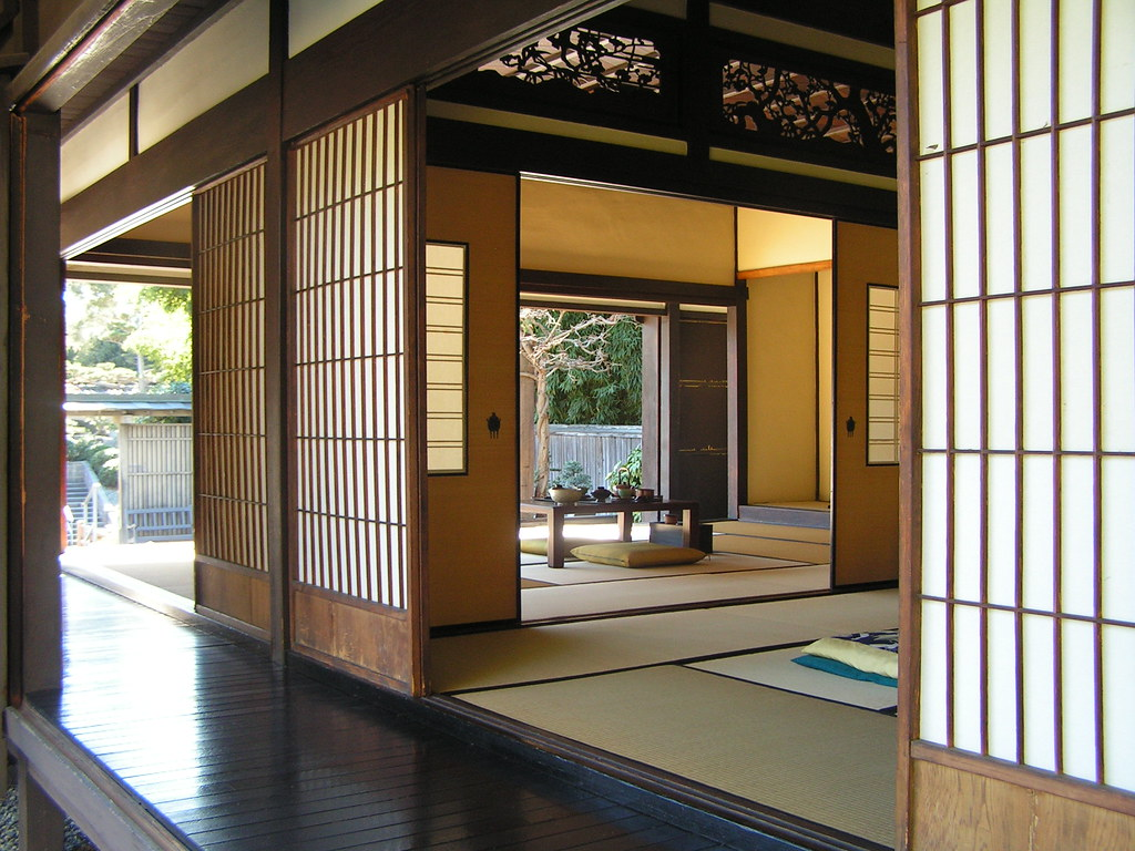 traditional japanese house a photo on flickriver. Black Bedroom Furniture Sets. Home Design Ideas