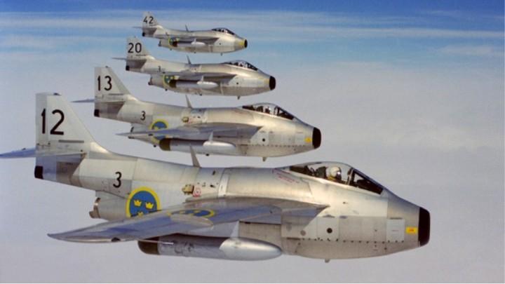 Записки Обывателя - Шведские реактивные боевые самолеты
