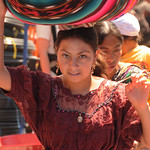 Indigenous Woman at Totonicapan Market, Guatemala