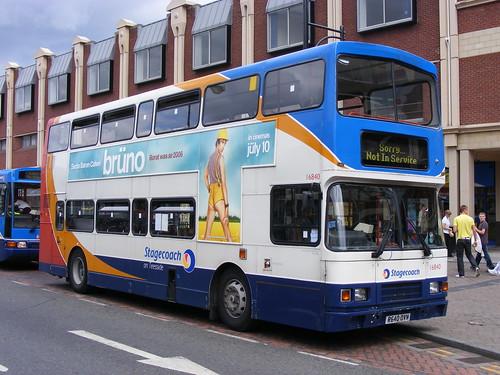 Stagecoach: 16840 R640OVN Volvo Olympian/Alexander