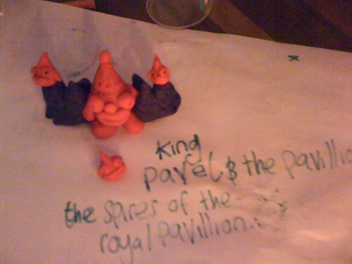 plasticine round: King Pavel and the Pavillions (various)