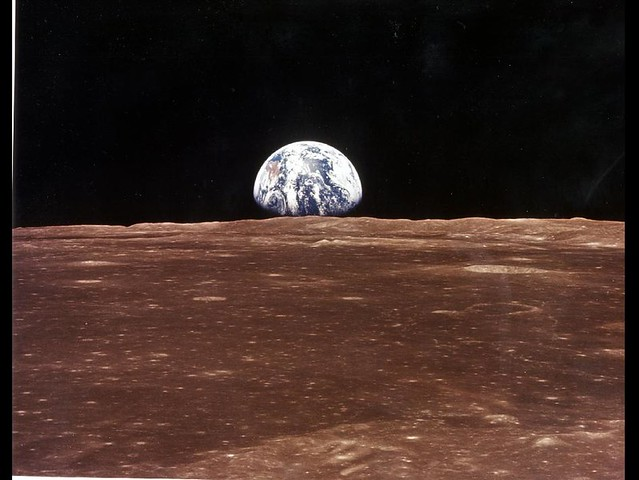 A View of Earth From Apollo 11 (NASA, July 19, 1969)