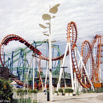 Boomerang & Desafio Roller Coasters