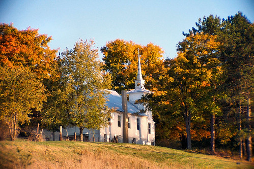 Church near Tappan Lake