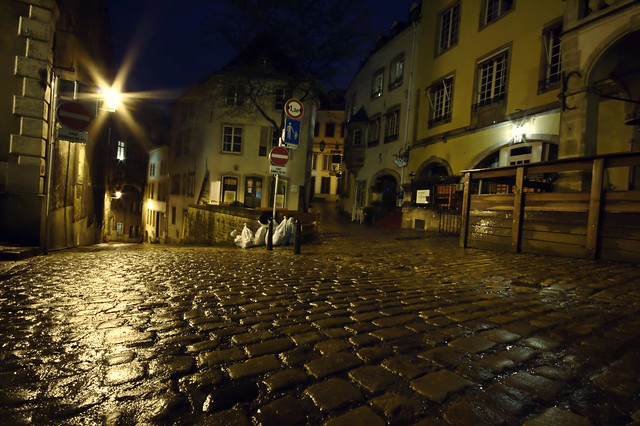 Une nuit au Luxembourg