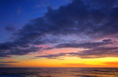 beach sunrise cloudy northcarolina 1740mm hdr rodanthe canondigitalrebelxti