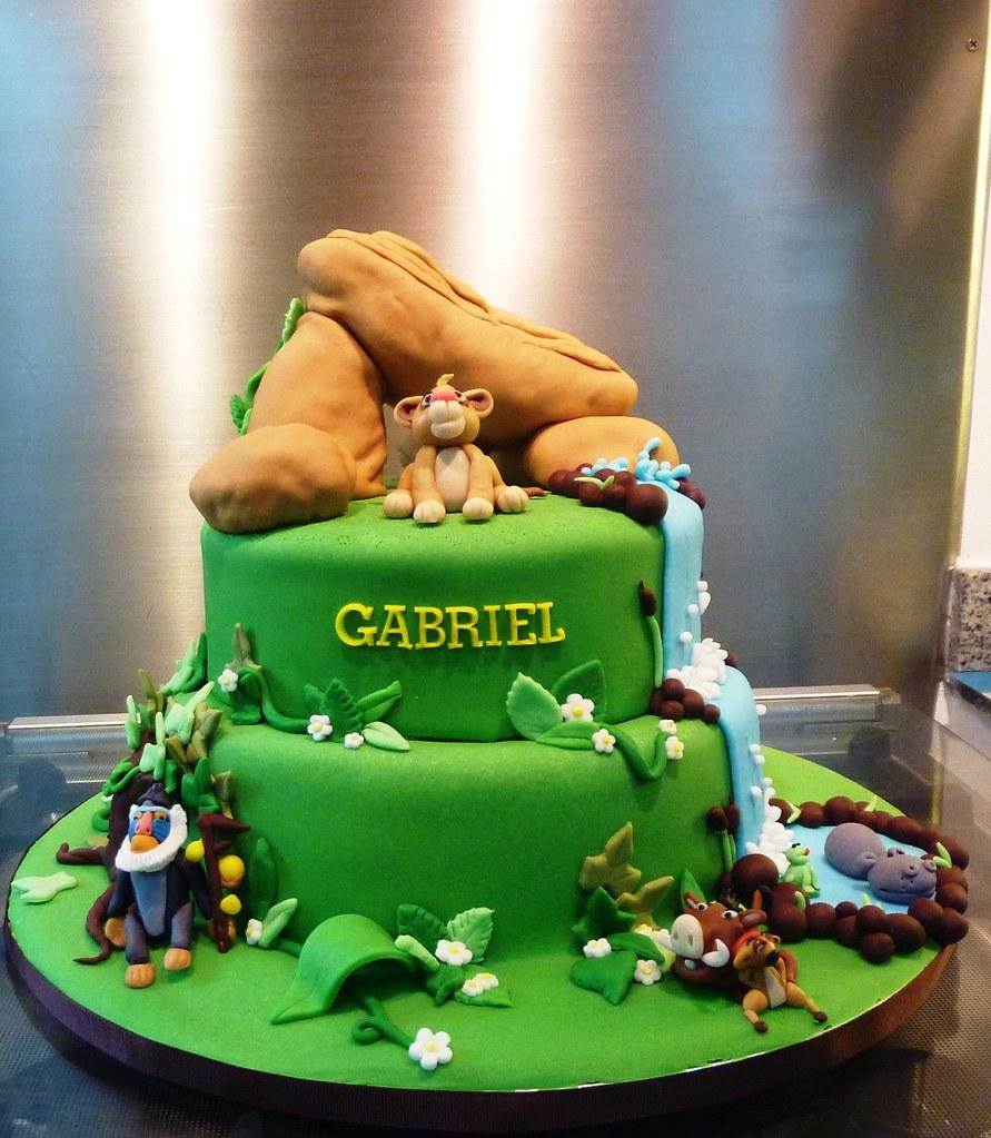 Lion King Cake Decoration Ideas : lion king cake - a photo on Flickriver