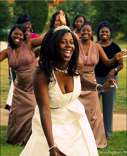 african women wedding gowns