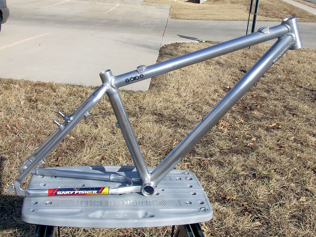 Polished Bike Frame