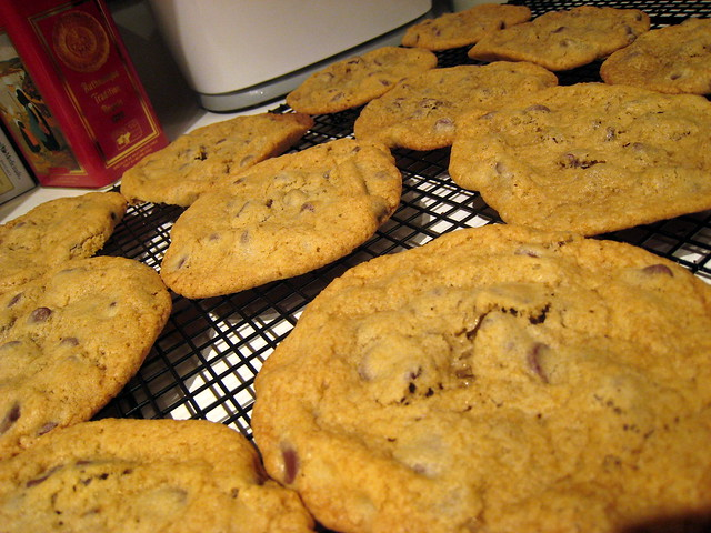 how to make thin chocolate chip cookies