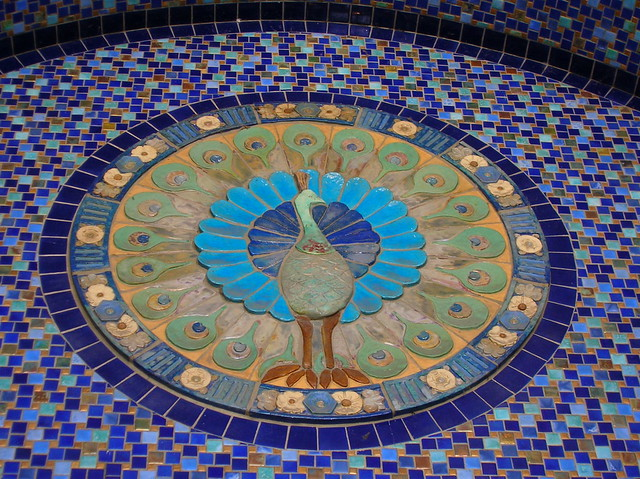 Peacock Mosaic Flickr Photo Sharing