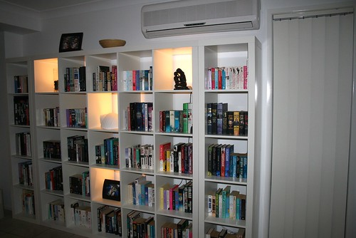 Finally a home for our books