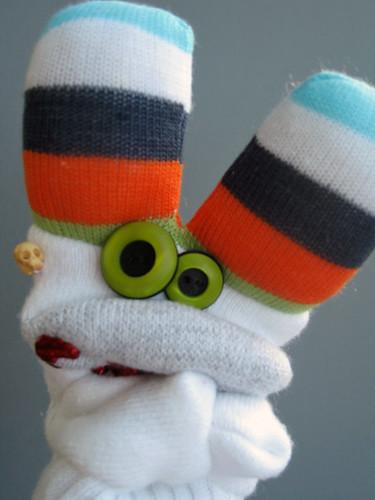 Sock Zombie Puppet