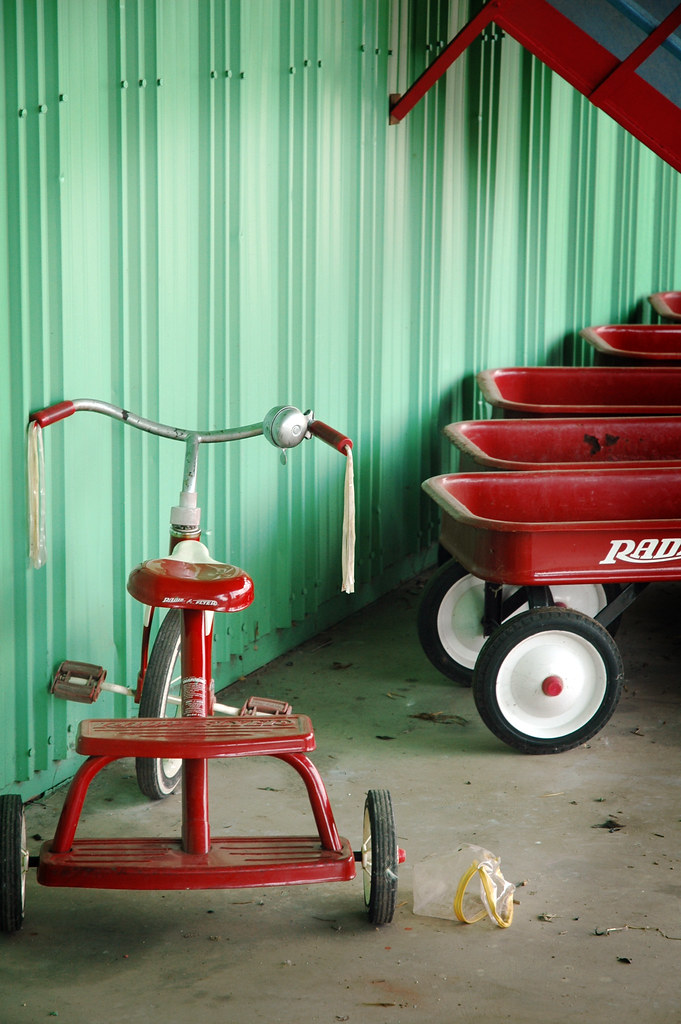 Radio Flyer & Tricycle