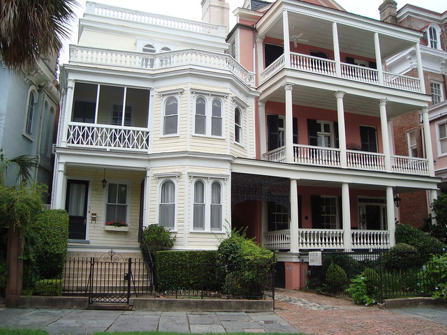 House on battery row charleston sc i love the old houses for Charleston row houses