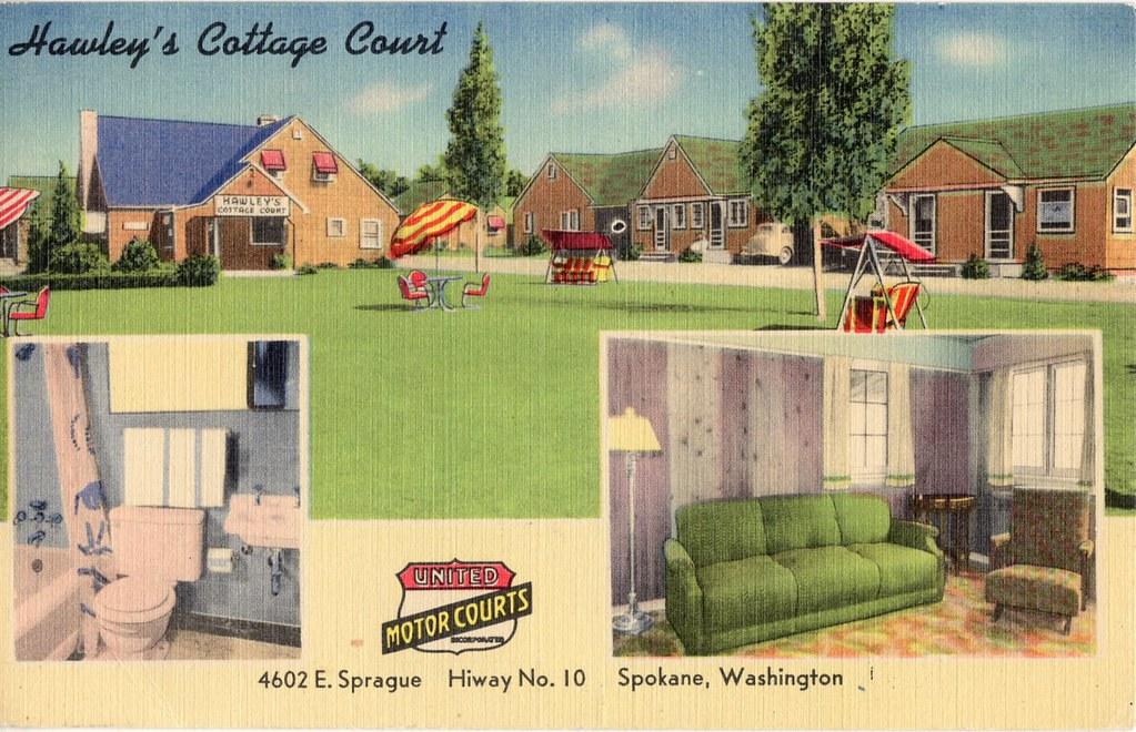 Hawleys Cottage Court Spokane WA   Hawleys Cottage Court 460