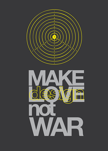 Make design (love) not war