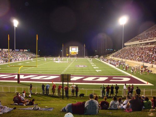Roy Kidd Stadium view from the hill! | Flickr - Photo Sharing!
