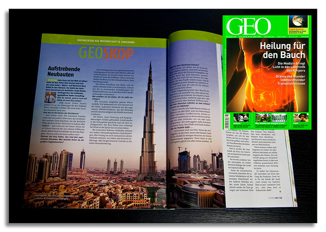 GEO Magazine, German edition, October issue