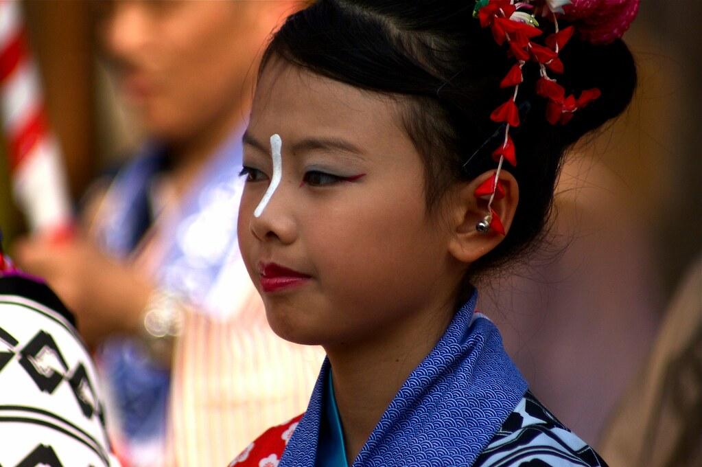 Portrait Of A Kawagoe Festival Participant