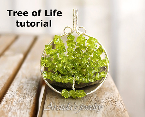 My First Tutorial - Tree of Life Wire Wrapped Pendant Step by Step Jewelry Instruction