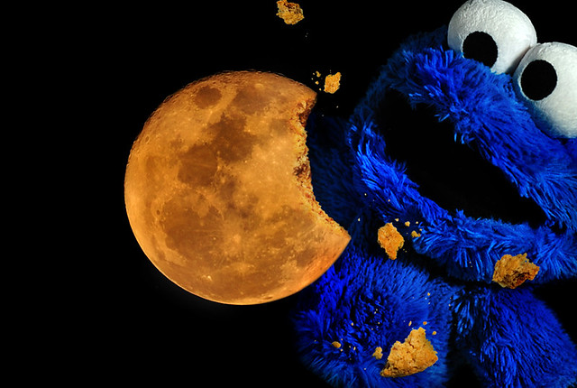 Cookie Monster Thinks The Moon Is A Cookie Sesame Street Full