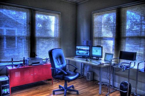 home office in hdr | by joey.parsons