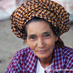 Burmese Older Woman, Smile - Toungoo, Burma
