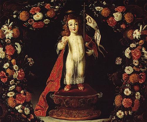 Josefa de Óbidos, O Menino Jesus Salvador do Mundo, 1672