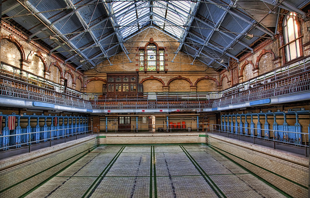 Amazing Places Derelict Mancunian Swimming Pool Content Singletrack Magazine