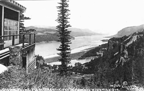 "Crown Point from ""Chanticleer"" on the Columbia River Highway"