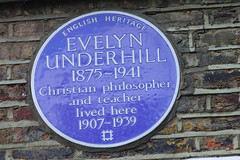 Photo of Evelyn Underhill blue plaque
