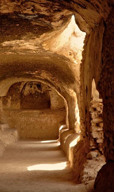 Buddhist cave complex, Samangan, Afghanistan