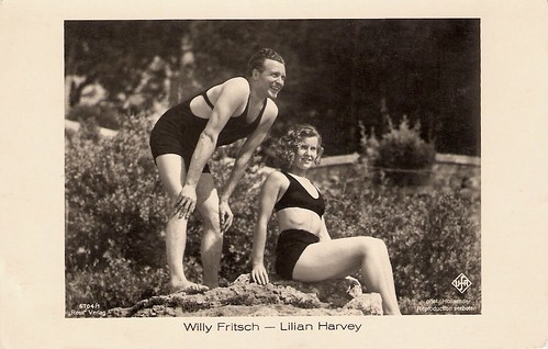 Willy Fritsch, Lilian Harvey