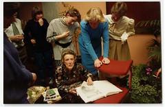 Margaret Mahy book signing
