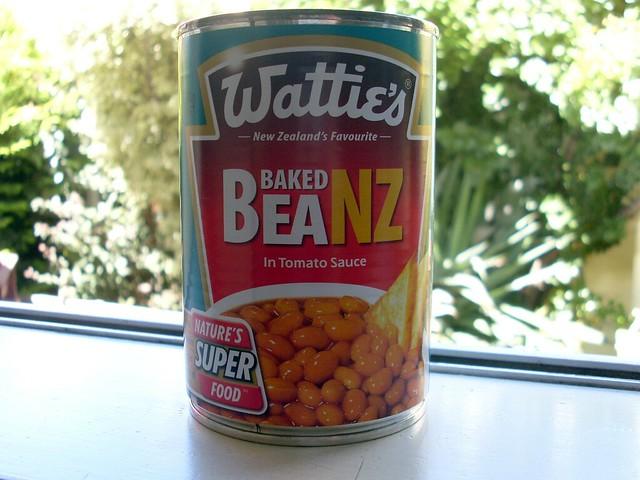 New Zealand baked beans