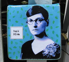 Rock Diva purse, back by pennylrichardsca (now at ipernity)