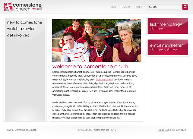Cornerstone Church - General B