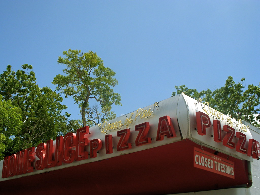 Home Slice Pizza Sign