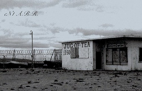 "Now Sadly Demolished - The "" Iconic "" - "" Jug of Tea "" : Morecambe : Lancashire :"