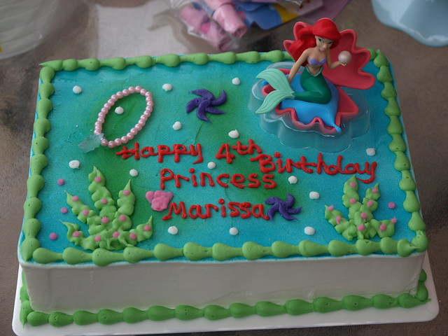 Mermaid Birthday Cakes Designs