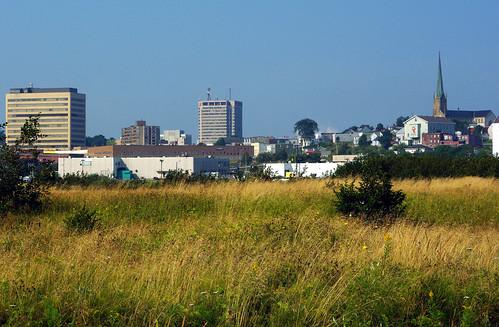 landscape cityscape marsh