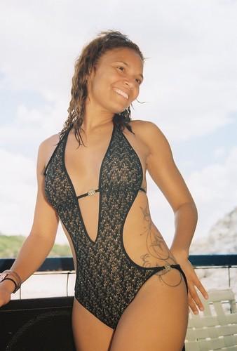 latina girl bikini
