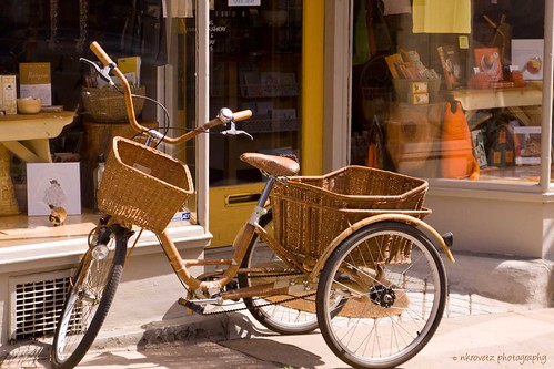 Wicker bicycle