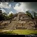 Lamanai maya ruins, Belize, main temple